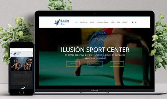Ilusión Sport Center, web